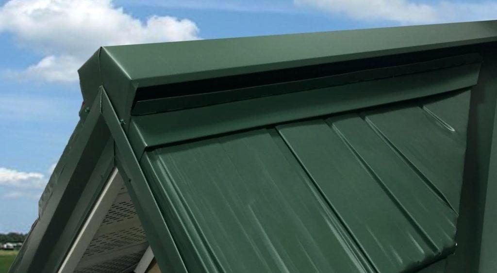Installing A Ridge Vent On Metal Roof In 2020 Metal Roof Vents Metal Roof Ridge Vent