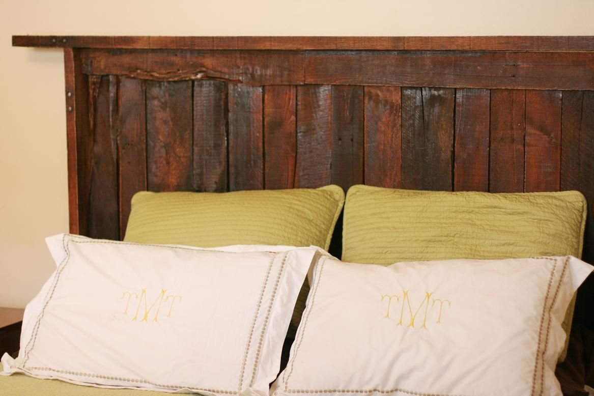 Recycled DYI headboard from pallets Google Image Result ...