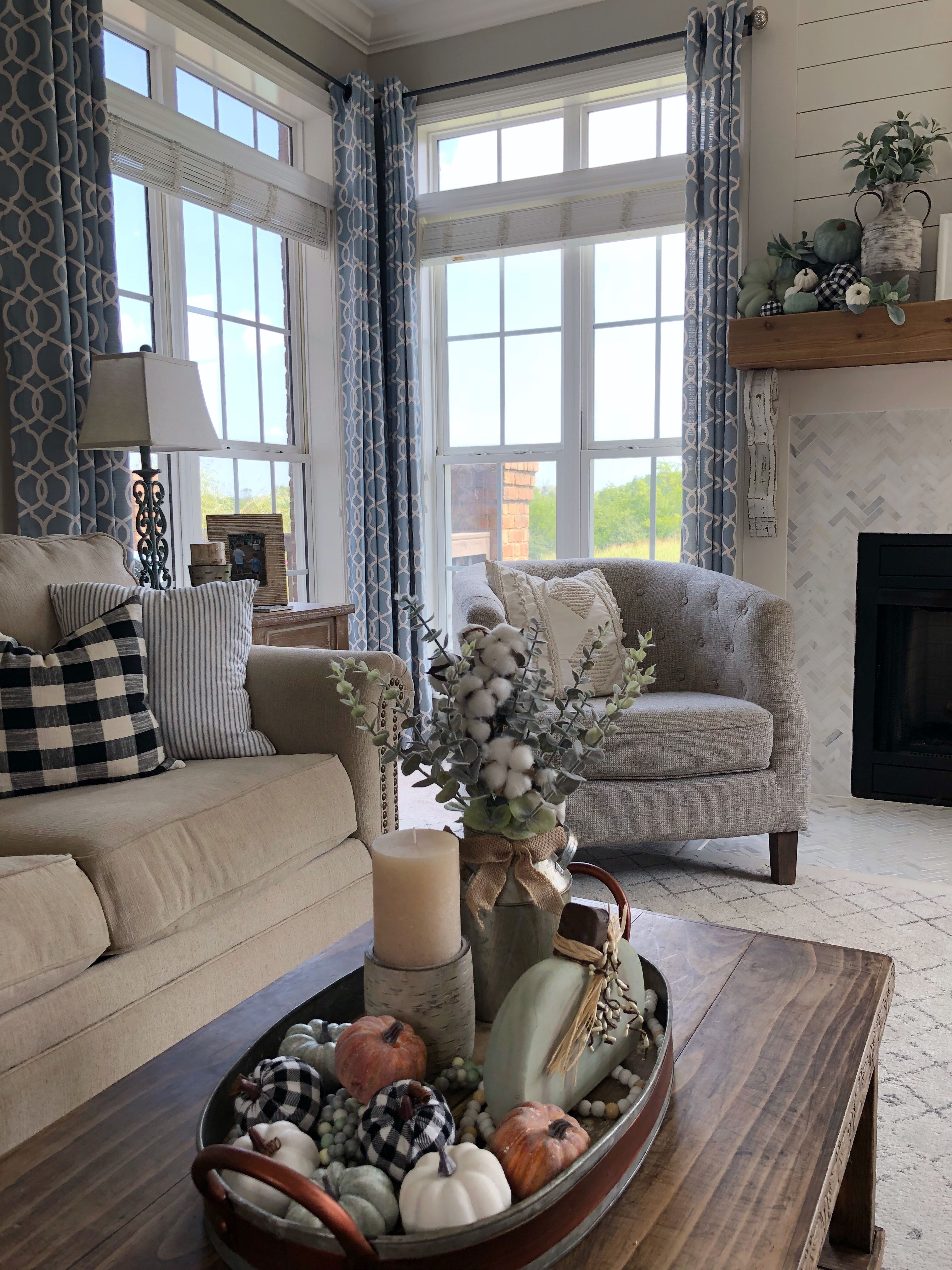 Family Room Design, Pictures, Remodel, Decor and Ideas ... |Rust Sage Living Rooms