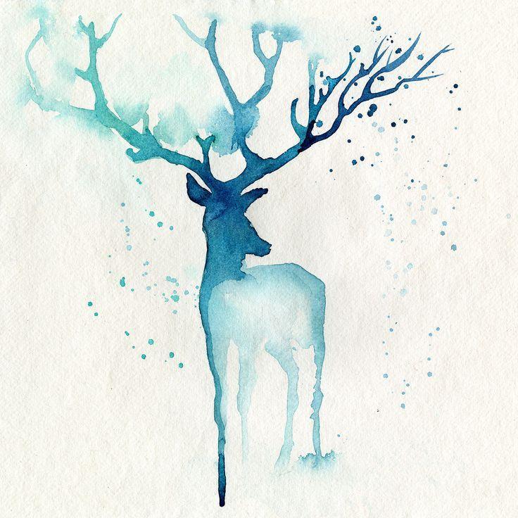 Resultado de imagen para dibujos de acuarela f ciles de for Pintura color albero