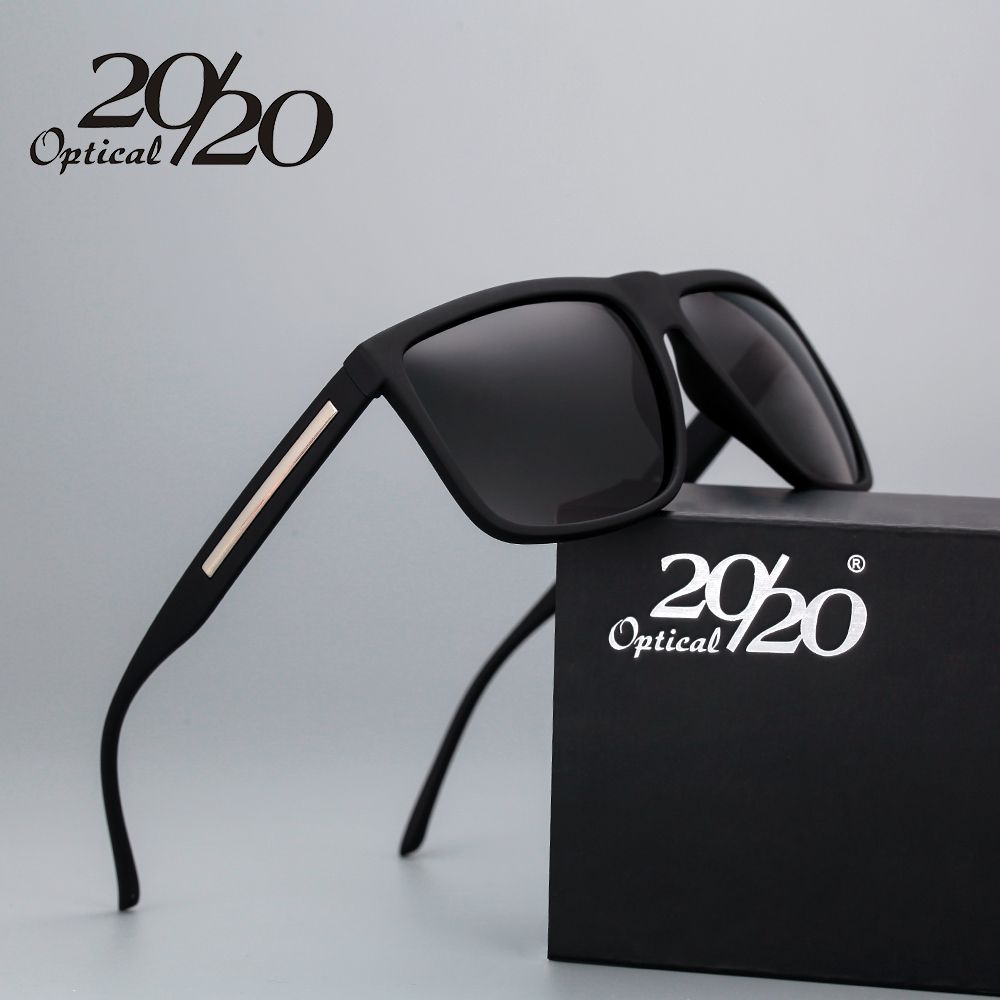 Barato 20 20 Marca de Moda Preto Óculos De Sol Dos Homens Polarizados  Condução Óculos de Sol Moda Masculina Oculos Gafas Eyewear PL207 oculos  polarizado ... a88dc3fd29