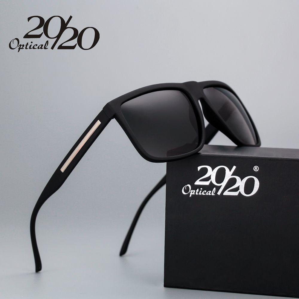 f65602c3e8f88 Barato 20 20 Marca de Moda Preto Óculos De Sol Dos Homens Polarizados  Condução Óculos de Sol Moda Masculina Oculos Gafas Eyewear PL207 oculos  polarizado ...