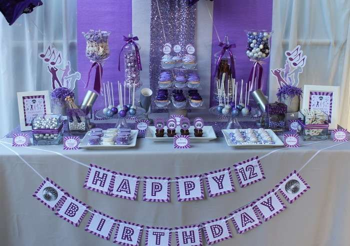 dance inspired birthday party ideas pinterest 12th birthday