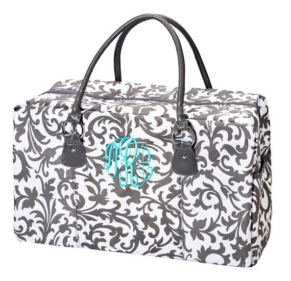 Personalized Weekender Bag 4 Colors by delilahs82 on Etsy, $34.00 ...