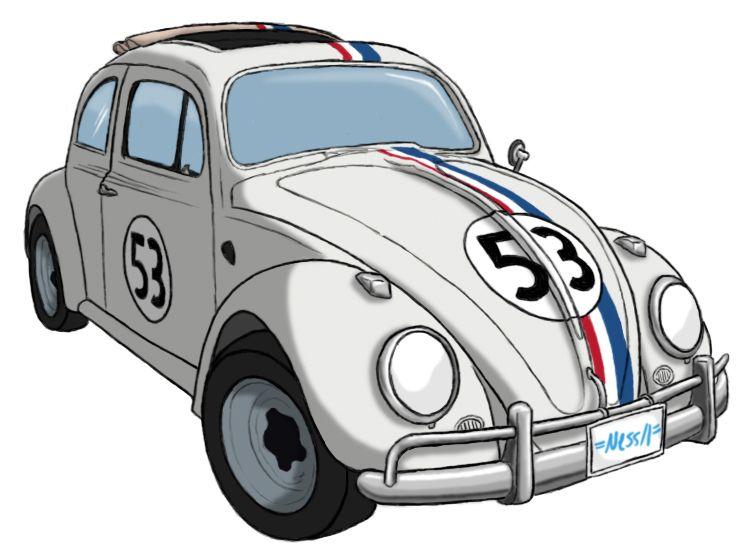 Deviantart More Like Herbie Guns It By Agentc 24 Car Volkswagen Cars Movie Vw Art