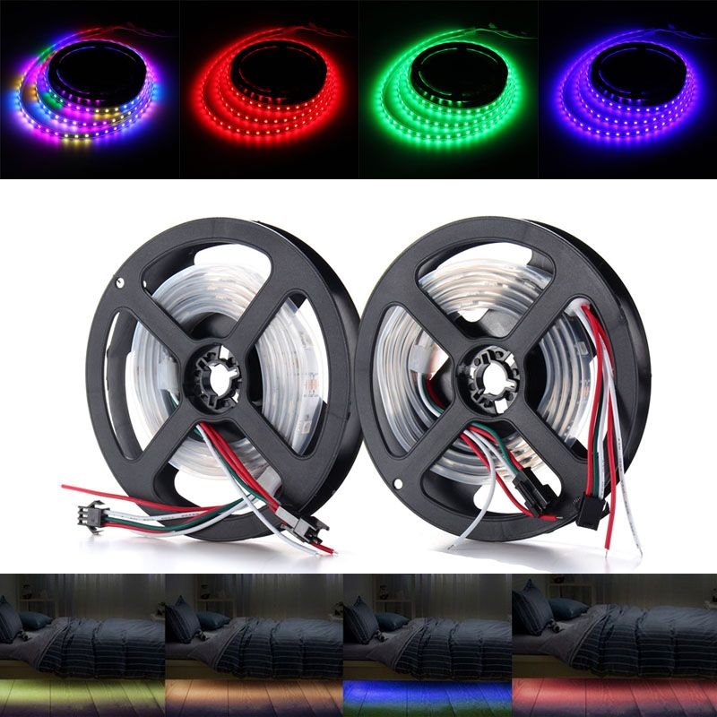1m waterproof ip67 ws2812 ws2812b rgb 30 led strip light 1m waterproof ip67 ws2812 ws2812b rgb 30 led strip light individually addressable 5v mozeypictures Choice Image