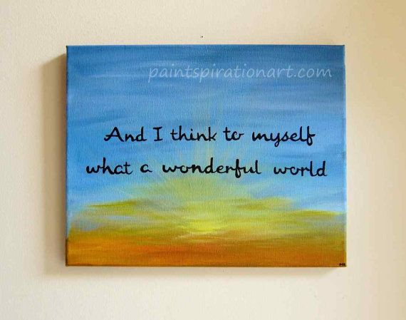 Painted Canvas With Sayings Canvas Painting Of Quotes What A