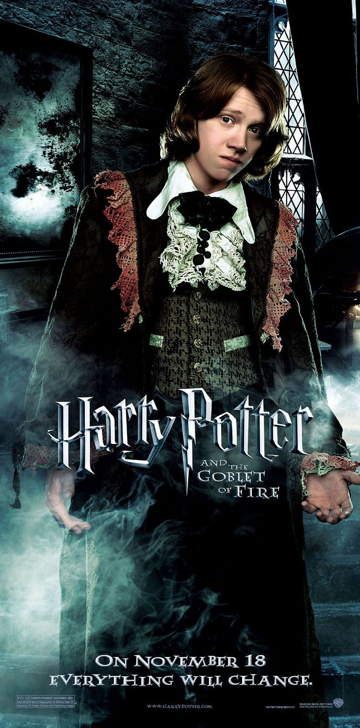 Harry Potter And The Goblet Of Fire Poster 14 Harry Potter Goblet Harry Potter Movies Goblet Of Fire