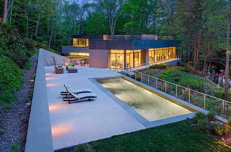 Aménagement jardin avec piscine 75 idées pour s\u0027inspirer - amenagement bord de piscine