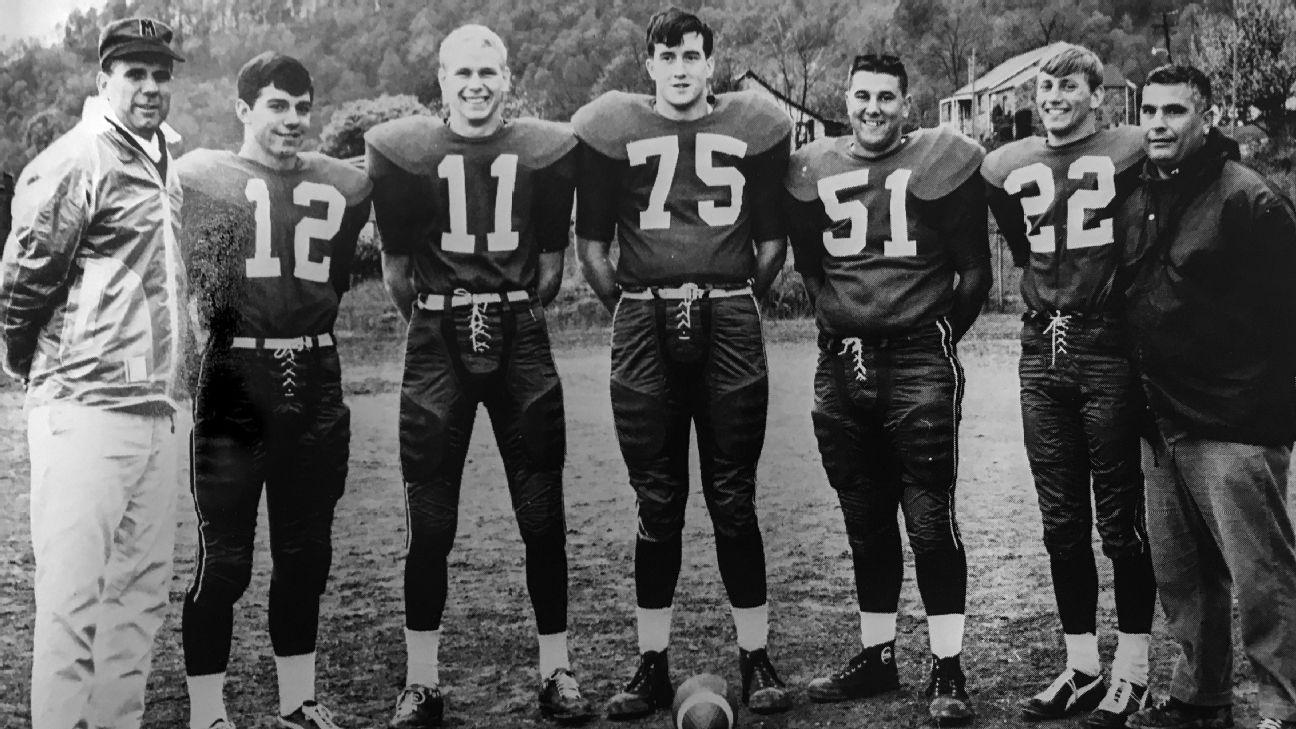Fifty Years Ago Nick Saban Won His First Title At West Virginia S Monongah High His Teammates Rememb Nick Saban College Football Teams Ncaa College Football