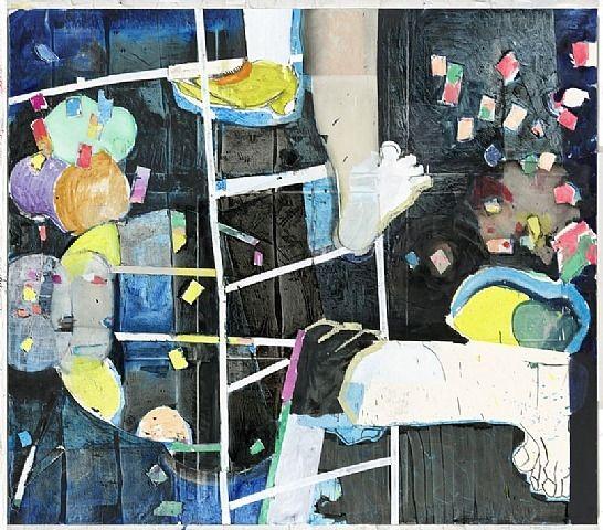 Ladder ARTIST: Magnus Plessen (German, b 1967) WORK DATE