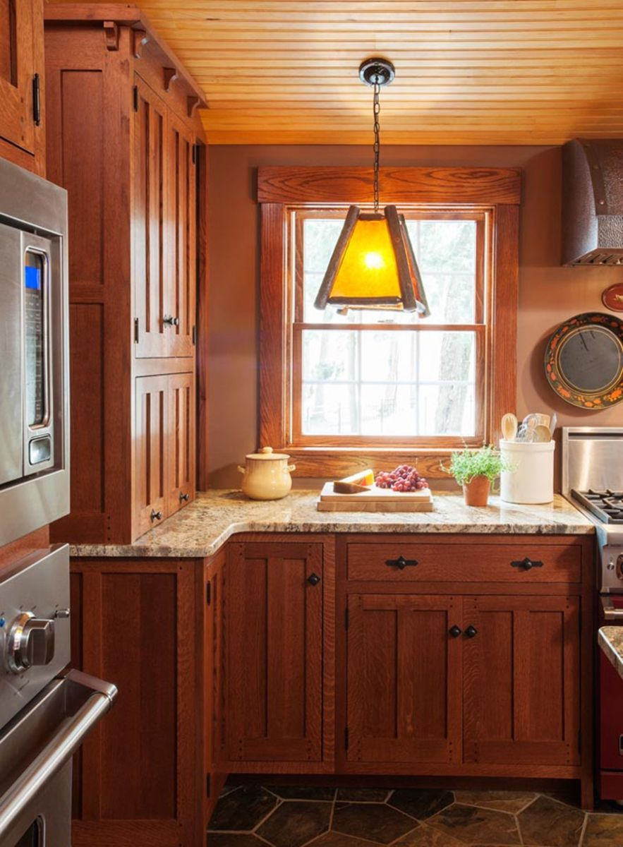 A Kitchen Worth The Wait New Hampshire Home September October 2015 Custom Kitchen Cabinets Kitchen Remodel Hickory Kitchen Cabinets