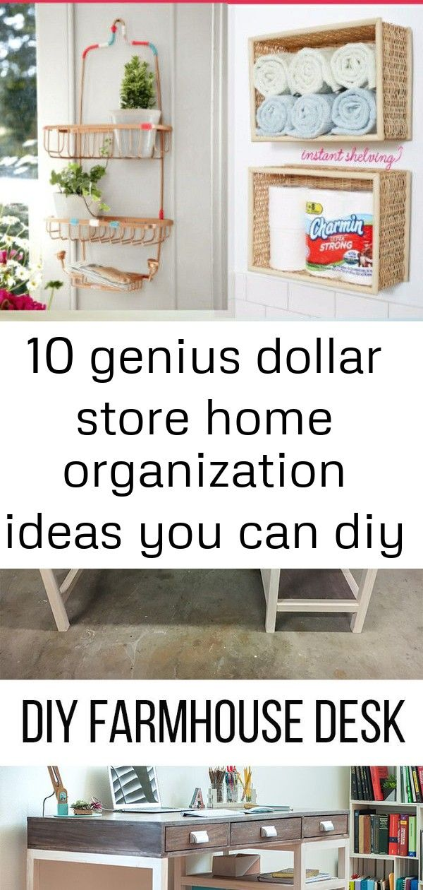 10 genius dollar store home organization ideas you can diy for cheap 3 #summerhomeorganization