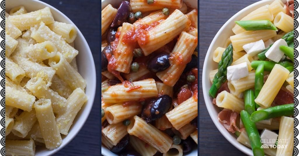 It's National Pasta Day! Celebrate with these recipes from @GDeLaurentiis: http://on.today.com/1svlqmD
