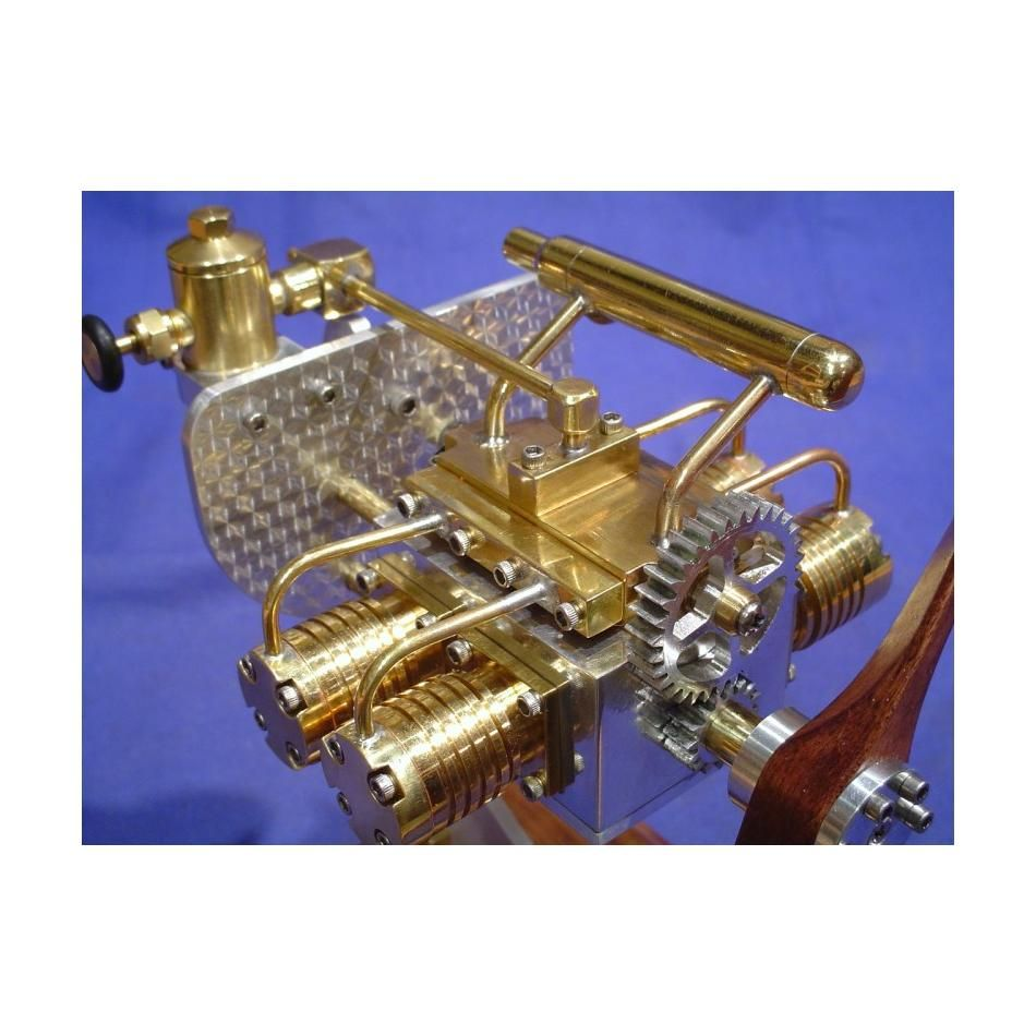 Liney rv2 kit fun diy crafts miniature steam engine