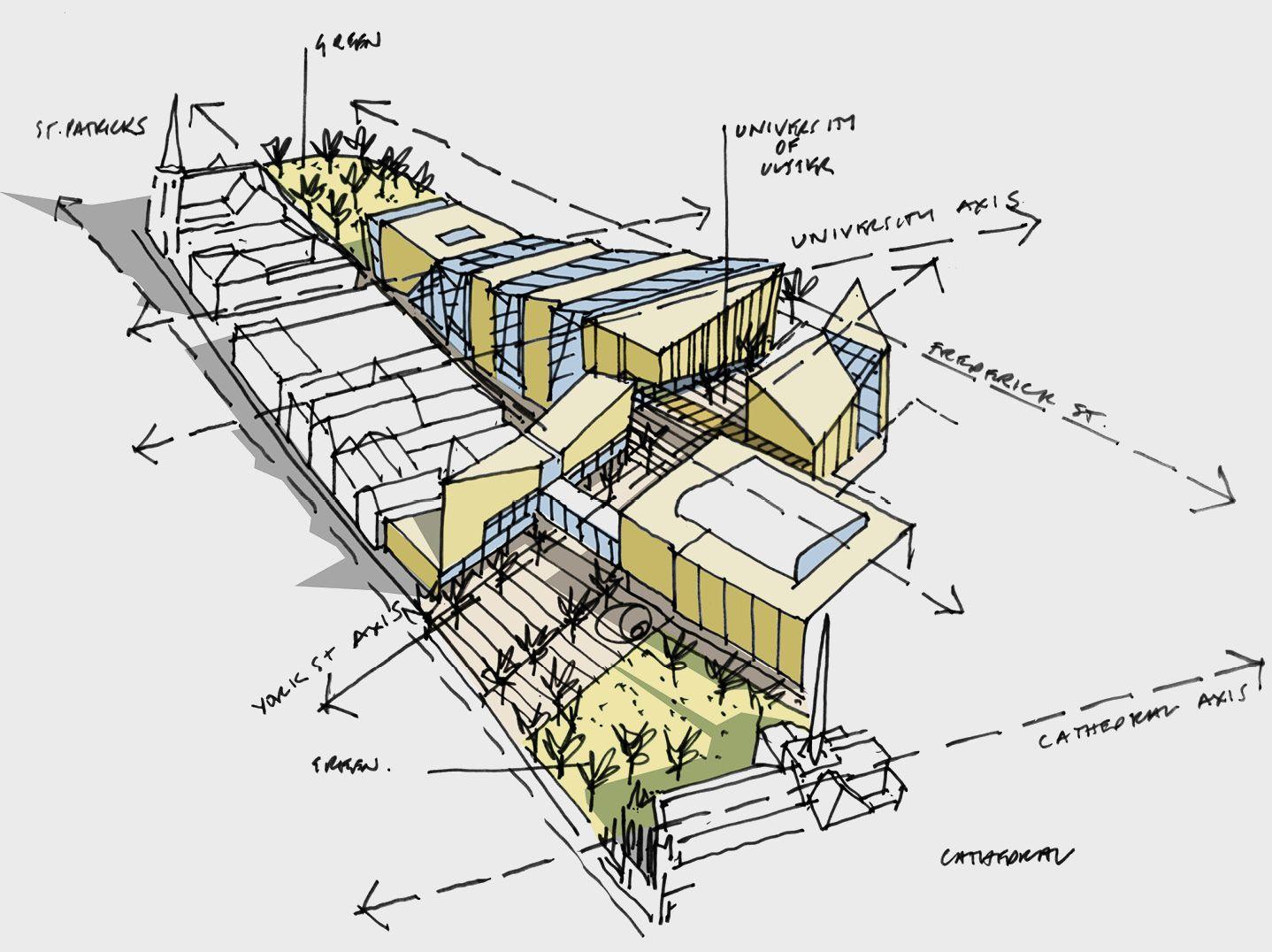 Feilden clegg bradley studios archi sketch pinterest for Concept design and planning