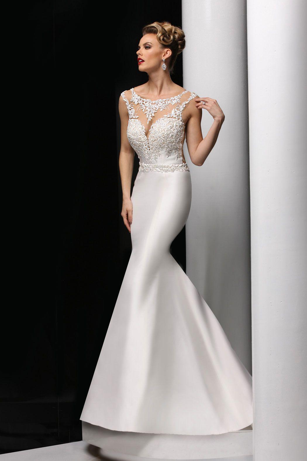 Simone Carvalli Bridal Style 90273A Two piece bridesmaid