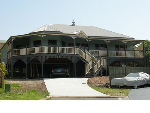 Traditional queenslander home design