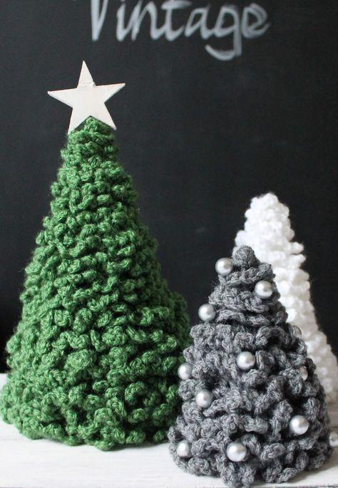 Weihnachtsdeko Häkel-Tannenbaum | Häkeln & Stricken | Pinterest ...