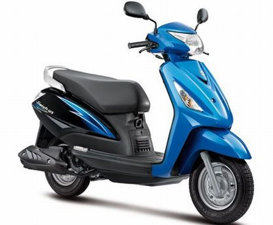 Specially For Girls So Find The Latest Suzuki Swish Bike And On