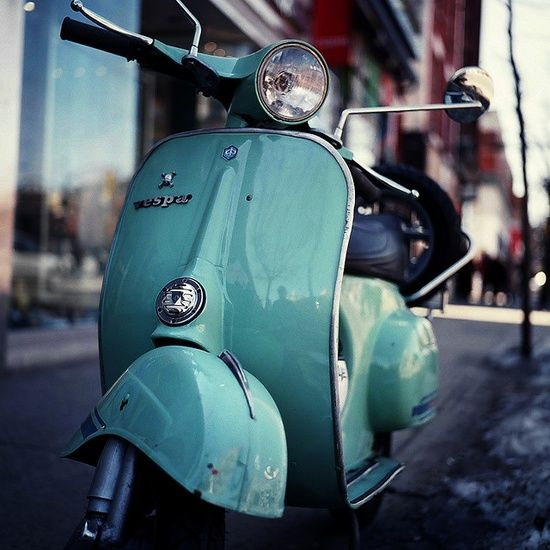 Turquoise vespa scooter book club pinterest vespa for Motor scooter blue book