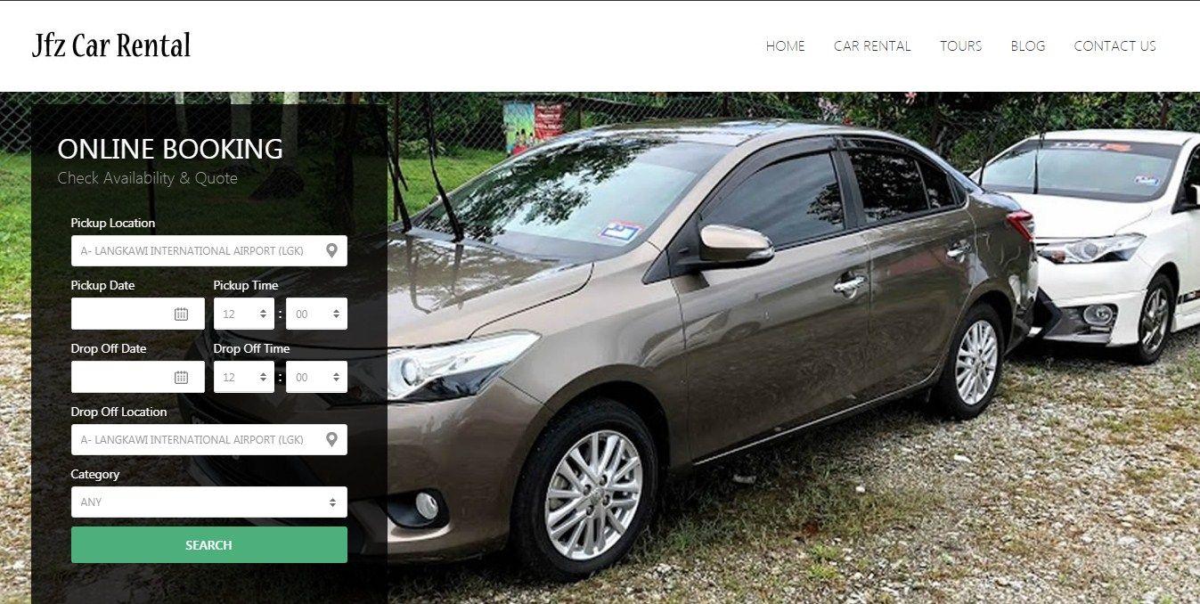Pin By Jfz Car Rental On Langkawi Car Rental Car Rental Luxury