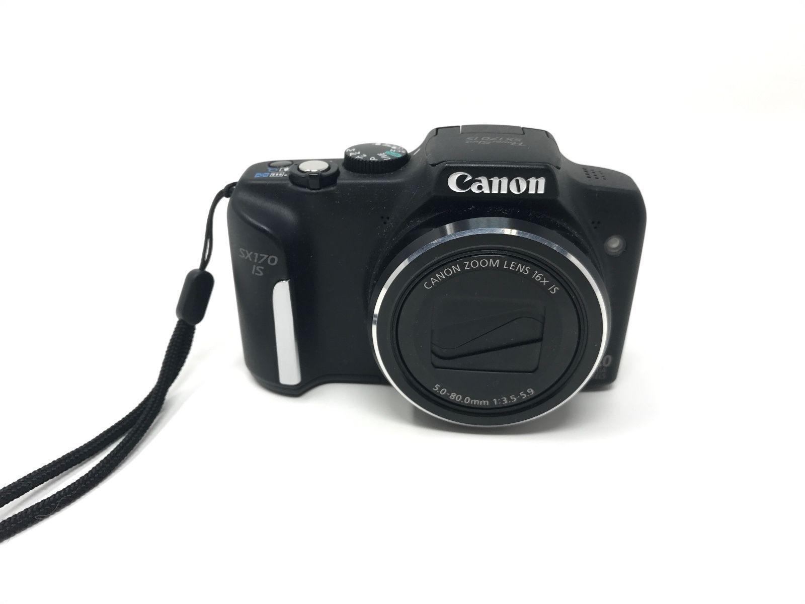 Canon Powershot Sx170 Is 16mp Digital Camera 52 00 16 Bids End Date Saturday Aug 19 2017 17 00 46 Pdt Bid No Digital Camera Canon Digital Camera Powershot