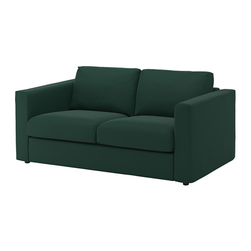 vimle canap 2 places gunnared vert fonc cb 0517 pinterest ikea vert fonc et canap s. Black Bedroom Furniture Sets. Home Design Ideas