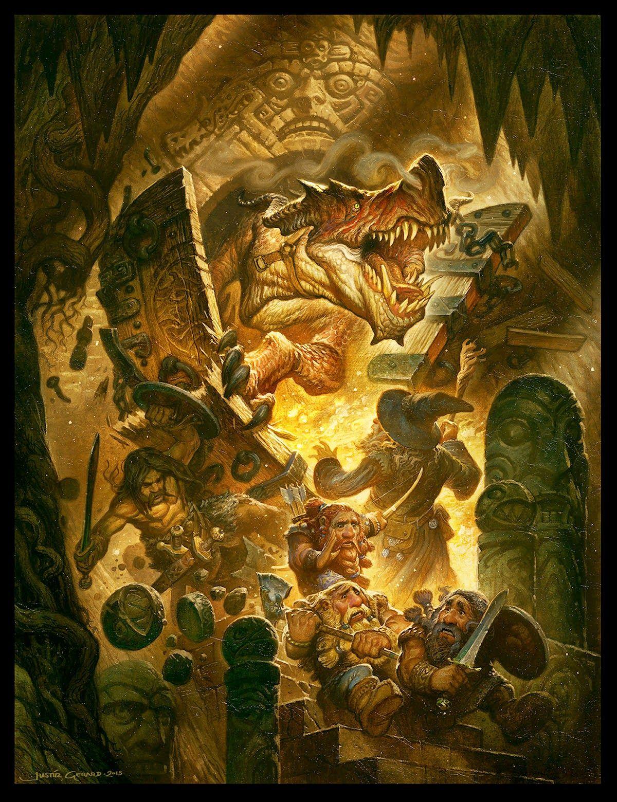Muddy colors the wrong door dwarves pinterest fantasy art