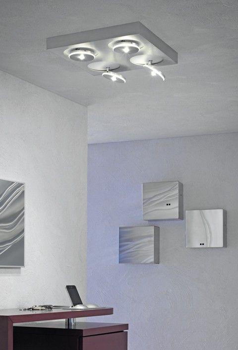 Escale Spot It Square Mit Bildern Leuchten Led Deckenstrahler Lampen