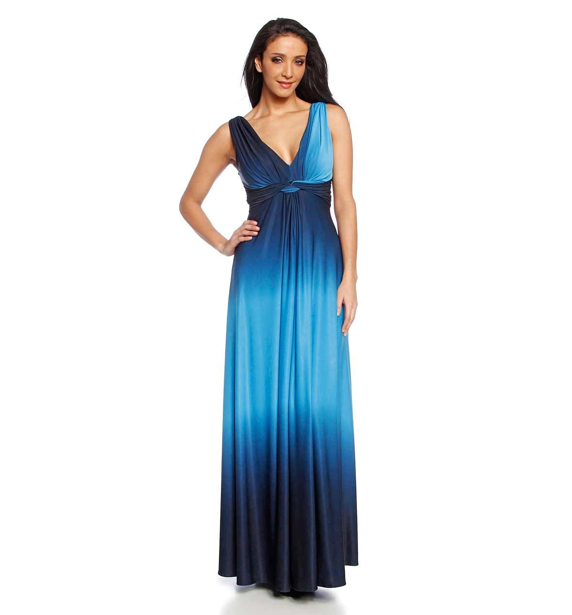 Vestido de fiesta azul/azul claro | My style | Pinterest | Vestidos ...