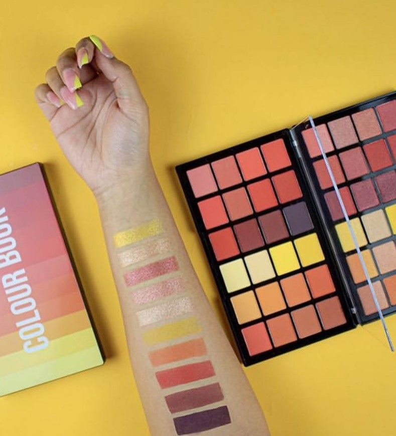 Makeup Revolution Colour Book Palettes Shadow Palette Makeup Revolution Coloring Books