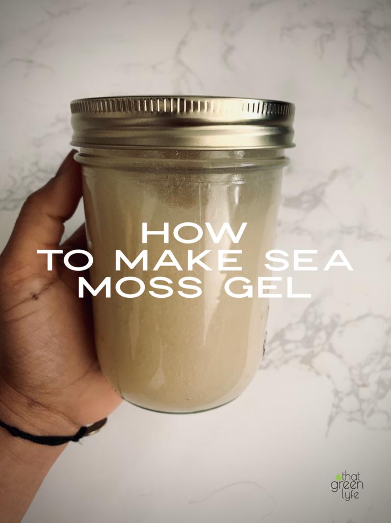 How To Make Sea Moss Gel No Heat Required That Green Lyfe Recipe Sea Moss Irish Moss Recipes Moss