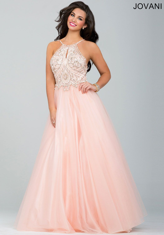 Este vestido es adecuado para una quinceanera #Jovani 33850 ...