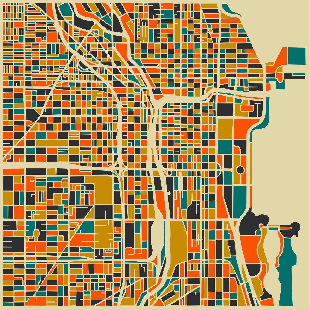 chicago  NOLLI  Pinterest  Chicago and City maps