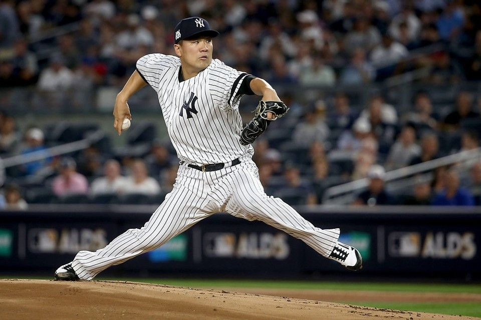October 8, 2017 New York Yankees beat the Cleveland