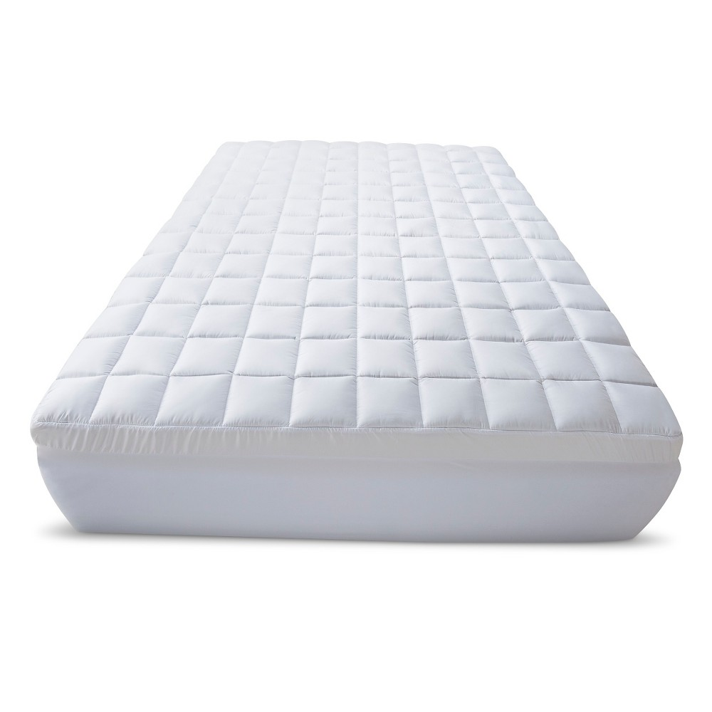 "Pulire Materasso Memory Foam 3.5"" memory foam/fiber topper king white - beautyrest, adult"