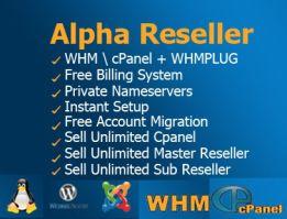 21+ Alpha reseller hosting unlimited viral