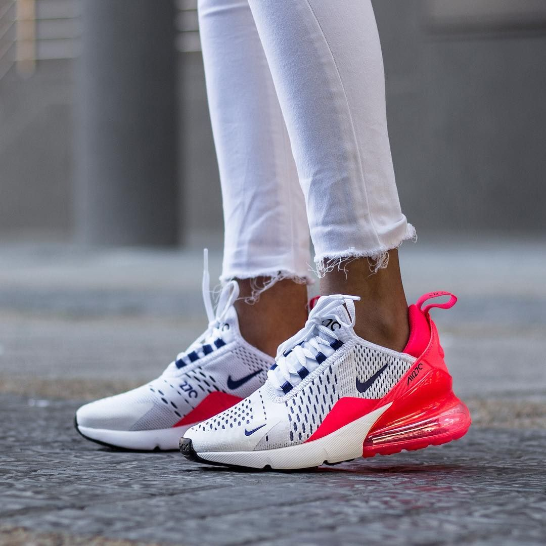 Nike Air Max 270 – Ultramarine / Solar Red | Nike schuhe ...