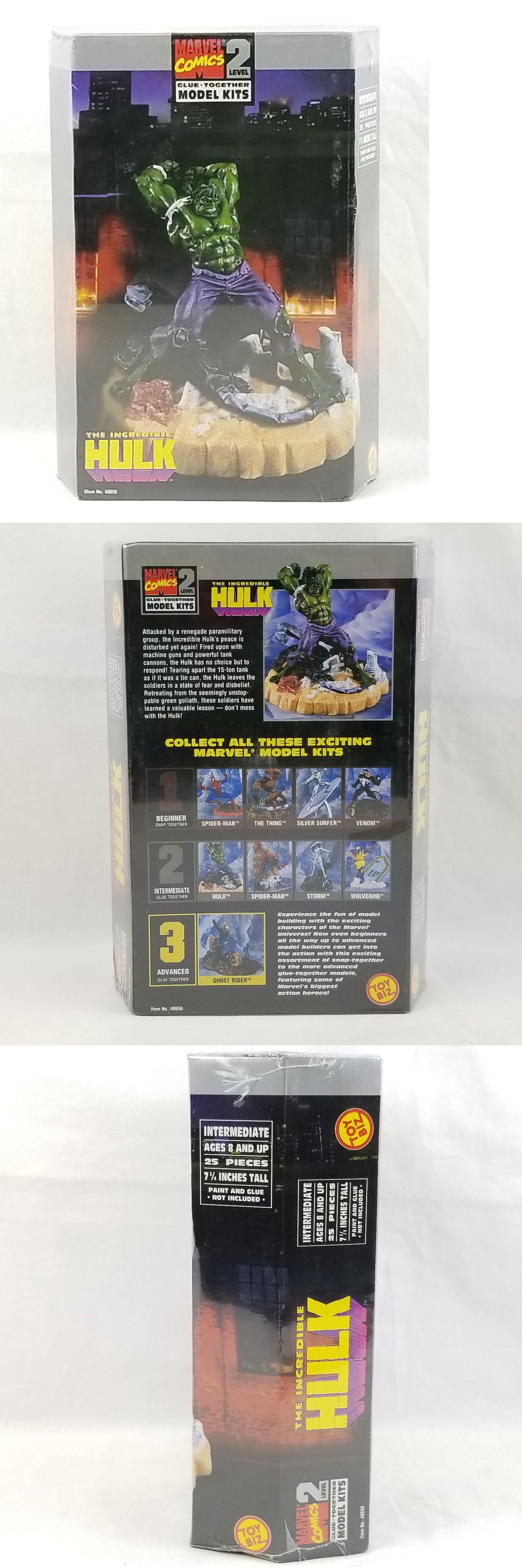 Super Hero 2593: Sealed The Incredible Hulk Glue Together