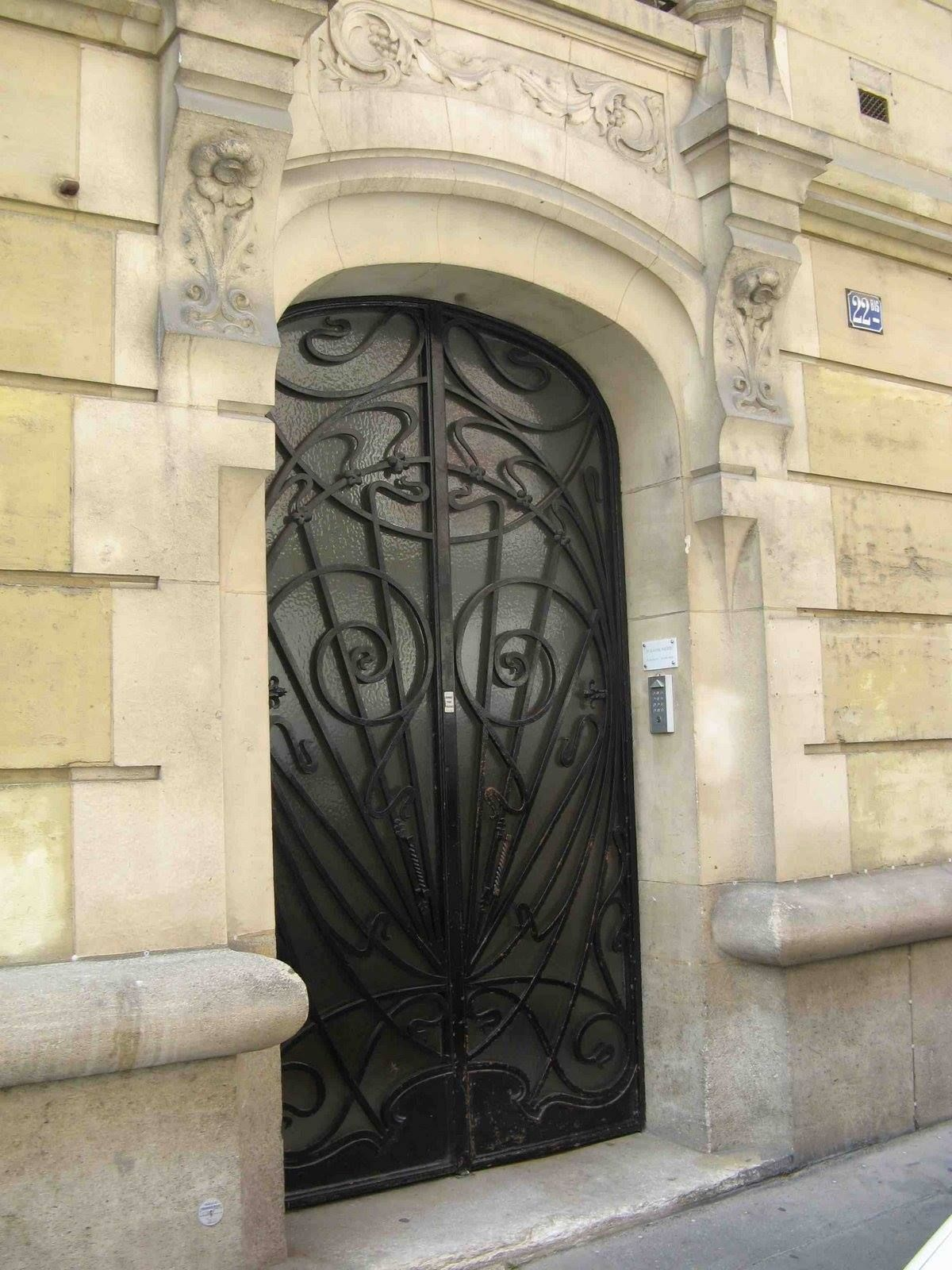 Nice Martin Ou0027malley, Iron Doors, Paris, The Doors, House, Portal, Le 22, Art  Nouveau Architecture, Bellisima