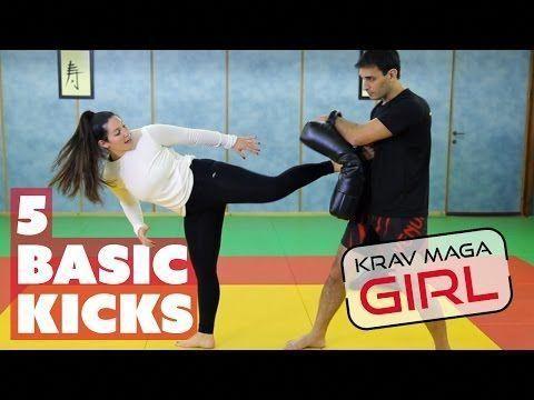 Krav Maga Girl 20 Min Krav Maga Fitness Workout Youtube