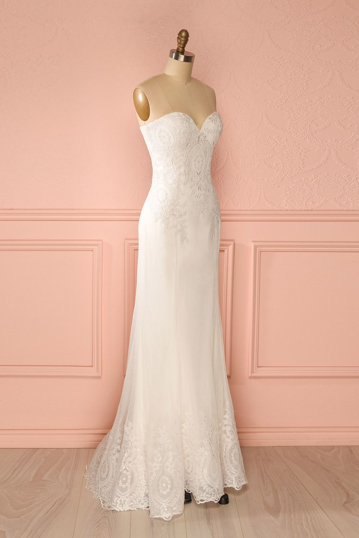 Lace dress wedding  Zaïla Pureté  Wedding  Pinterest  Wedding dress Wedding and Robe