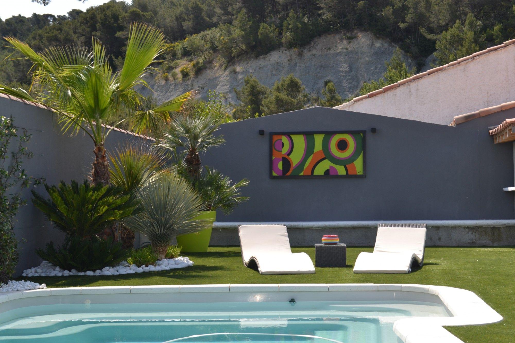Assez Amenagement Jardin Avec Piscine. Copyright With Amenagement Jardin  DP39