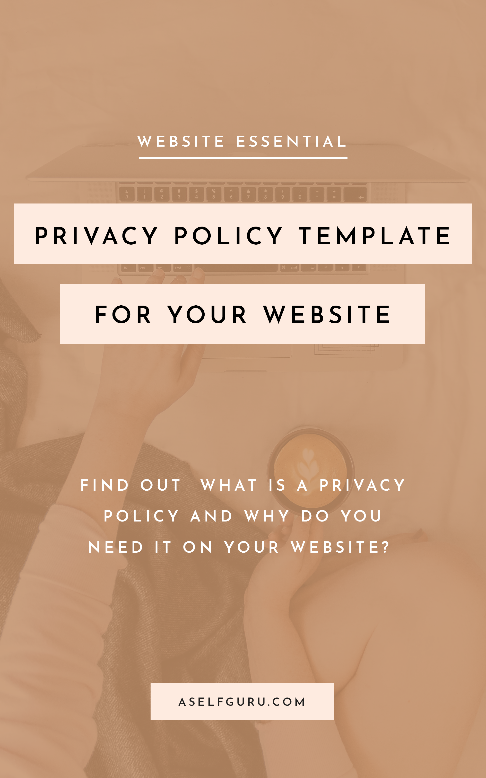 A Privacy Policy Is Necessary On Every Website This Legal Document Informs Your Visitors How You Collect And Use Their Per Blog Legal Make Money Blogging Blog