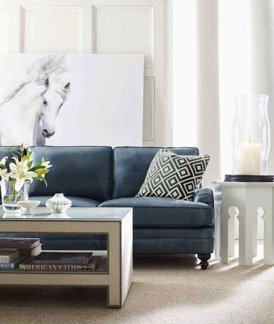 Navy Blue Sofa Styling Part 1 Blue Sofa Living Sofa Styling
