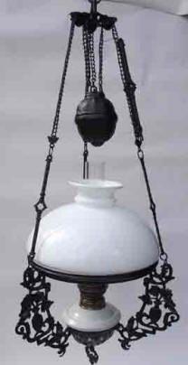 Dutch Iron Cast Oil Lamp Antique LampsVintage LightingKerosene LampLantern LampLamp LightLamp IdeasHanging