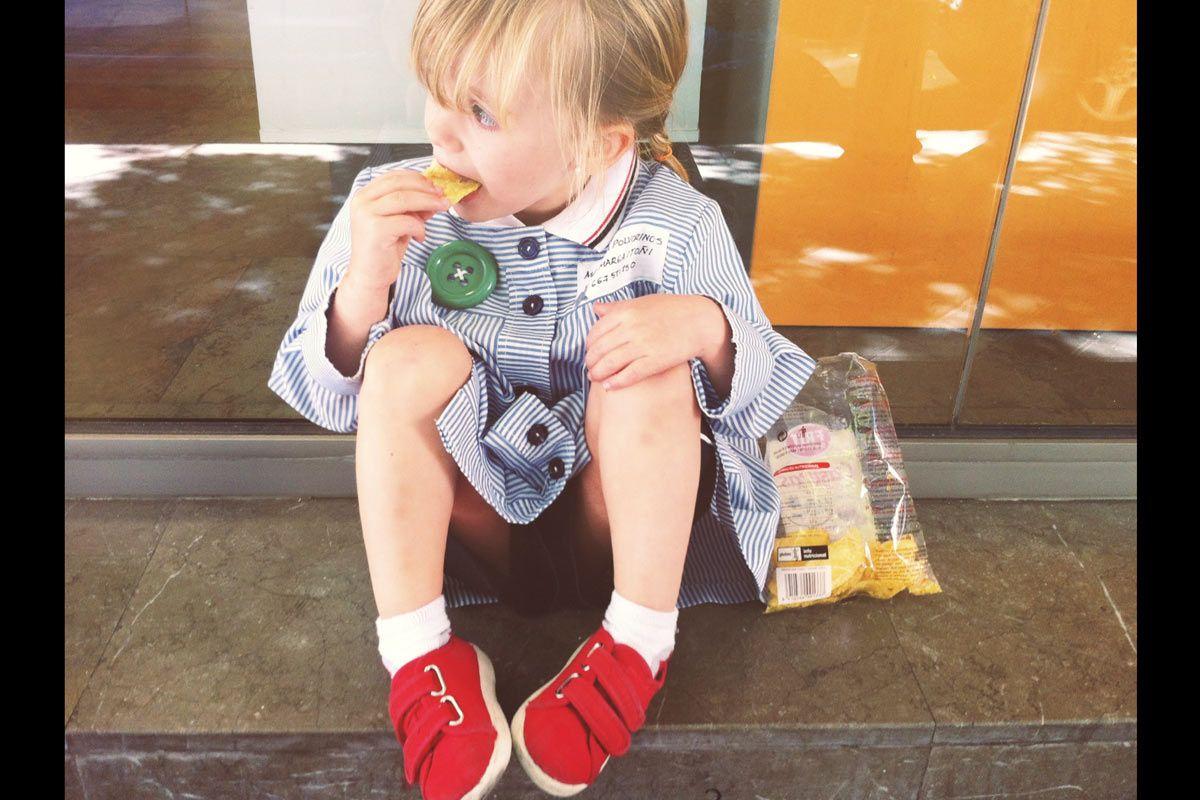 Disfrutando del recreo #BambiniAllaModa #AltaModaInfantil #ModaInfantil