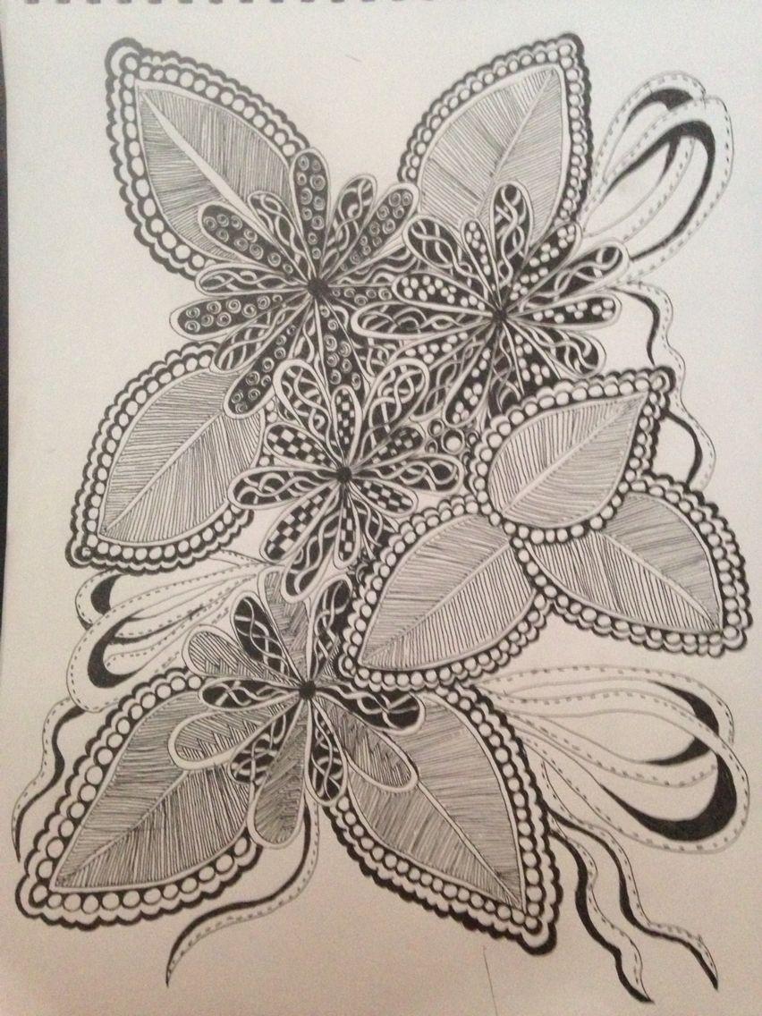 Ink doodles  By Debra Lloyd