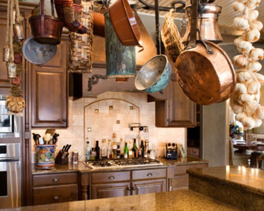 Rustic Italian Kitchens  Country kitchen decor, Italian style